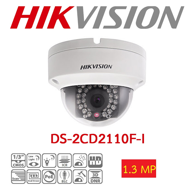 Camera Hikvision DS-2CD2120F-IWS cho khả năng quay HD chất lượng cực chất