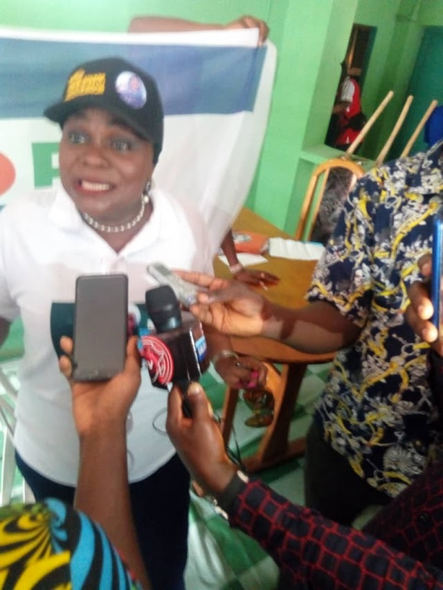 Ogun Guber: UDP Candidate, Jackie Adunni, Promises Better Days If Elected