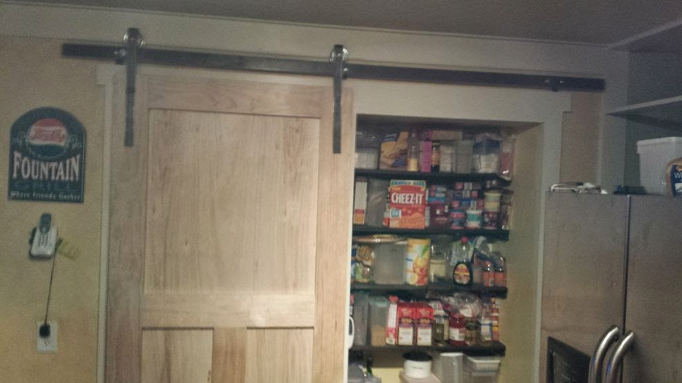 Color Me Crafting: It's A Kitchen... Pantry Barn Door