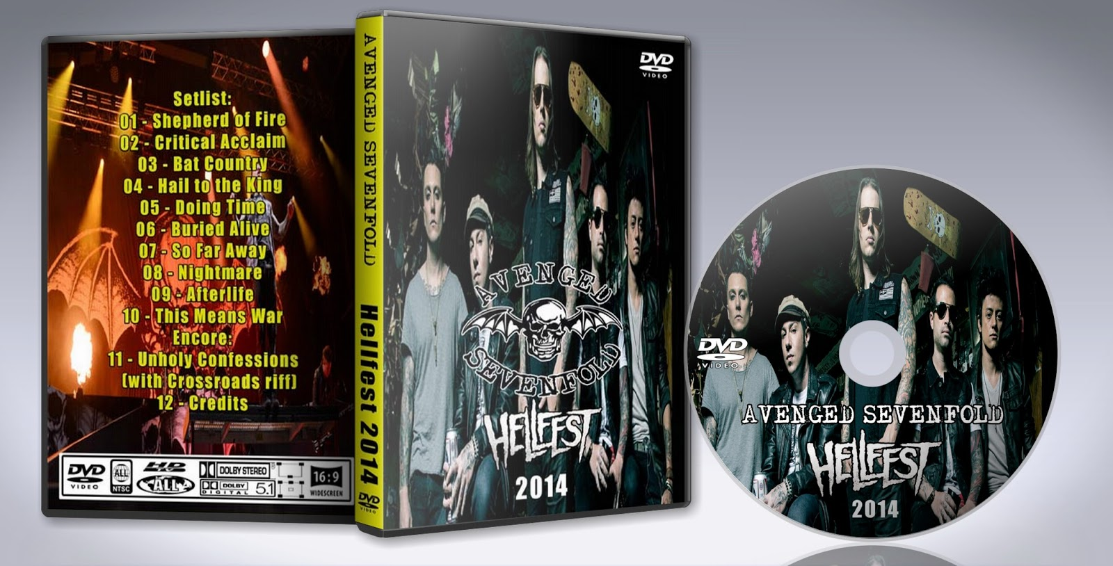 Avenged sevenfold dvd download free