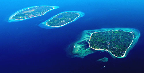 about gili islands