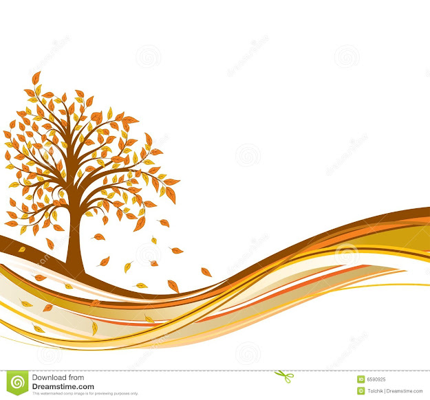 Tree Autumn Background Vector