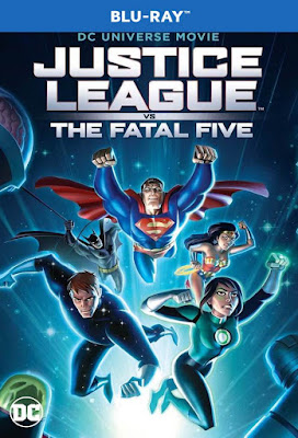 Justice League Vs The Fatal Five 2019 BD25 Latino