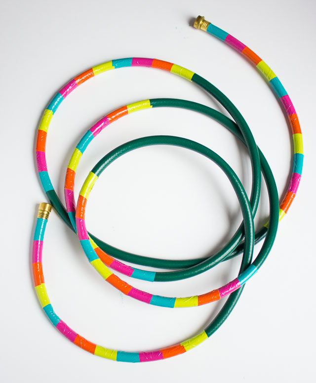 Captivating How To Make Duct Tape Decorated Garden Hose