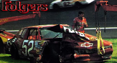 Jimmy Means #52 Turtle Wax Racing Champions 1/64 NASCAR diecast blog 1987 Winston Cup Folgers Tim Richmond