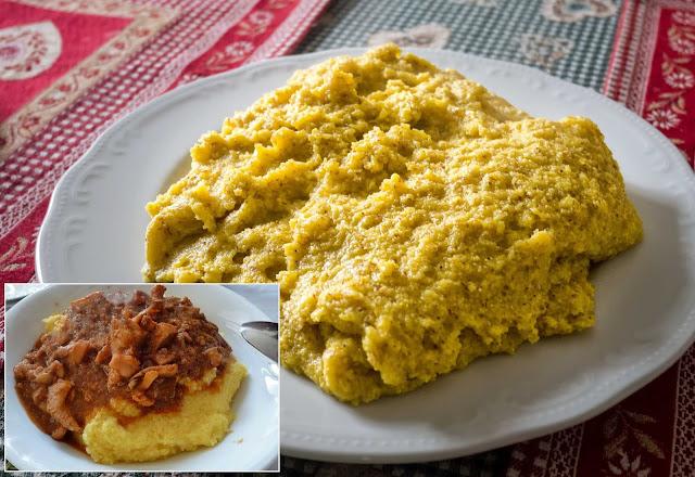 polenta e sepe seppie