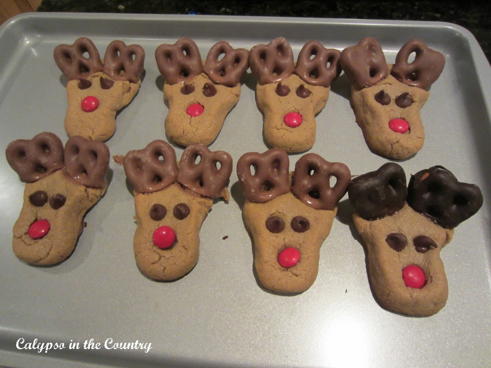 Recipe for Reindeer Cookies