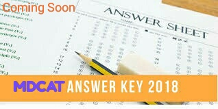MDCAT white answer key