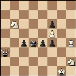 Problema de mate en 2 de Eugenio Gómez, 1935