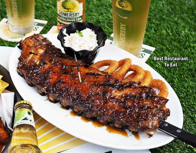 Morganfield Menu Jack Daniel Baby Back Ribs