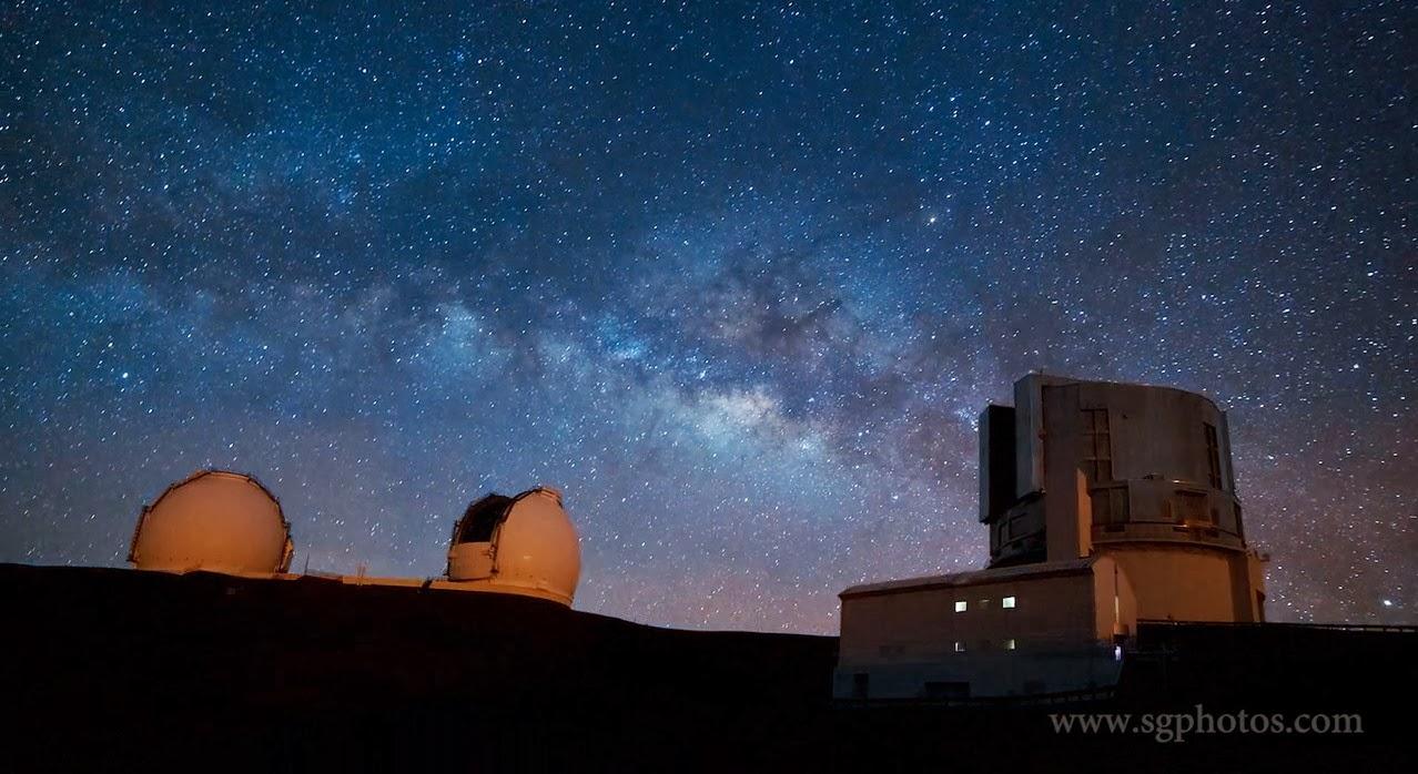 Suburban spaceman: Hawaii Night Sky Revealed in Stunning ...