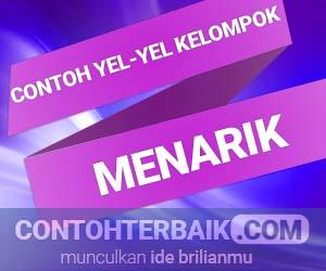 Contoh Yel-yel Kelompok
