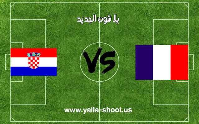 نتيجة مباراة فرنسا وكرواتيا اليوم الأحد 15-7-2018 في نهائي كأس العالم 2018