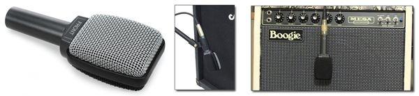 Micrófono Sennheiser E609 Silver para Grabar Amplificador de Guitarra