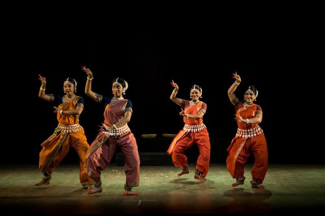 Noted Odissi Danseuse Sharmila Mukerjee and her troupe Sanjali present 'Sookshma'