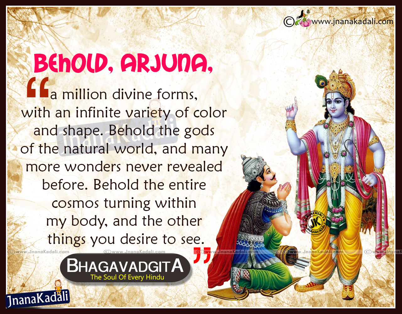 Lord Krishna Quotes Bhagavad Gita English Best Quotessri Krishna Bhagavan  Jnana