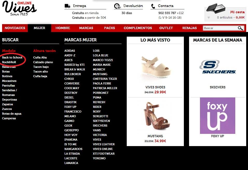 ec53398e Esta nueva temporada otoño-invierno viene pisando muy fuerte. En Vives Shoes  queremos facilitarte al máximo tu experiencia de compra.
