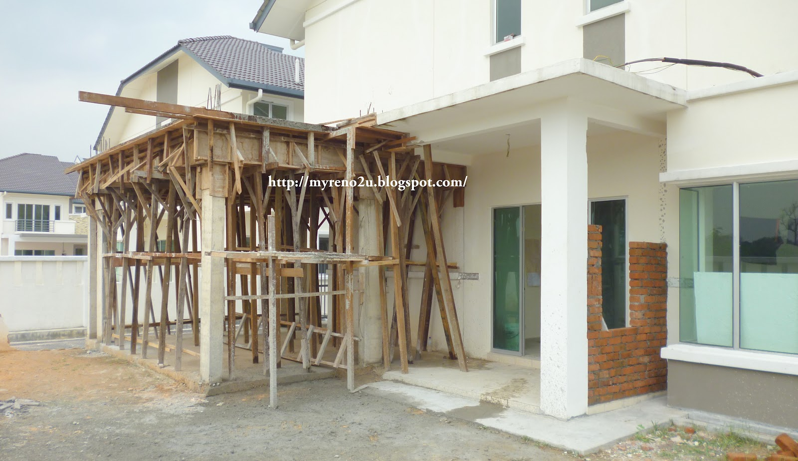 Construction - House Renovation in Kajang | MyReno2U