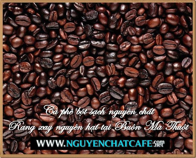 Cà phê bột sạch nguyên chất rang - xay nguyên hạt tại Buôn Ma Thuột