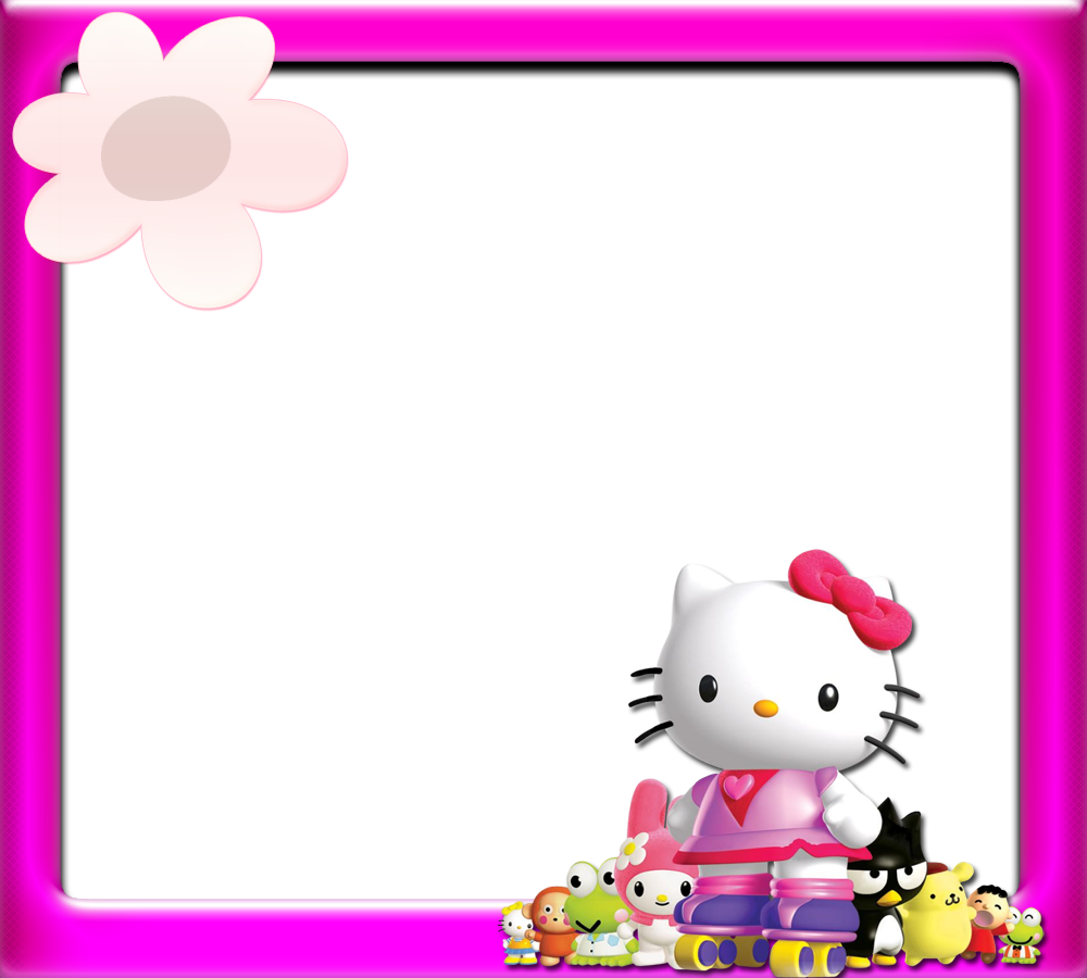 Hello Kitty: Borders, Images And Backgrounds.