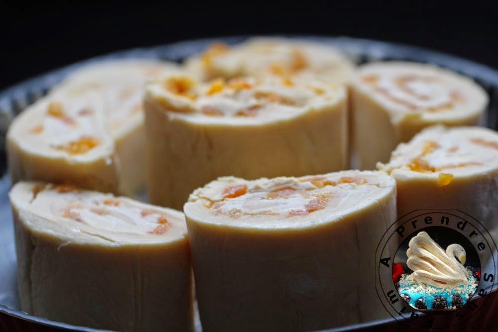 Chinois aux abricots secs (pas à pas en photos)
