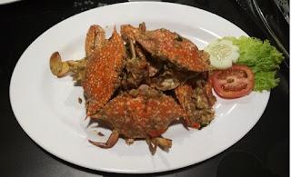 Kepiting pedas peranakan