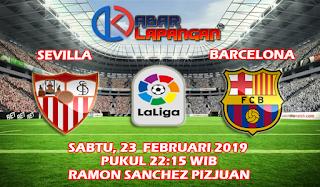 Prediksi Bola Sevilla vs Barcelona 23 Februari 2019