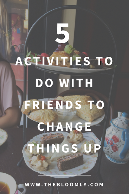 5 Activities You Can Do With Friends to Change Things Up