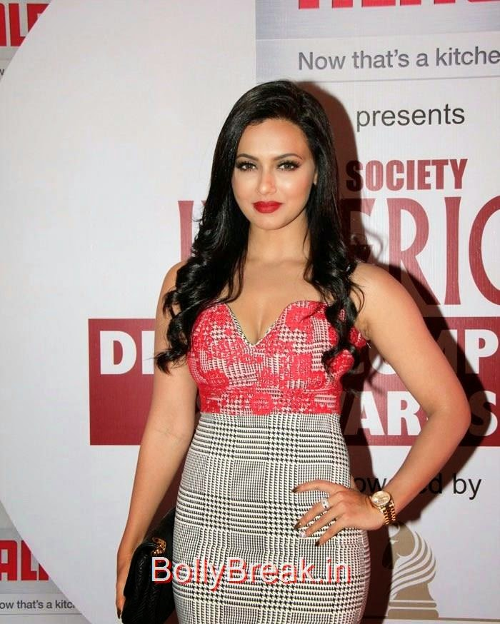 Sana Khan, Sana Khan, Amrita Rao hot Images At Society Interiors Design Competition & Awards 2015