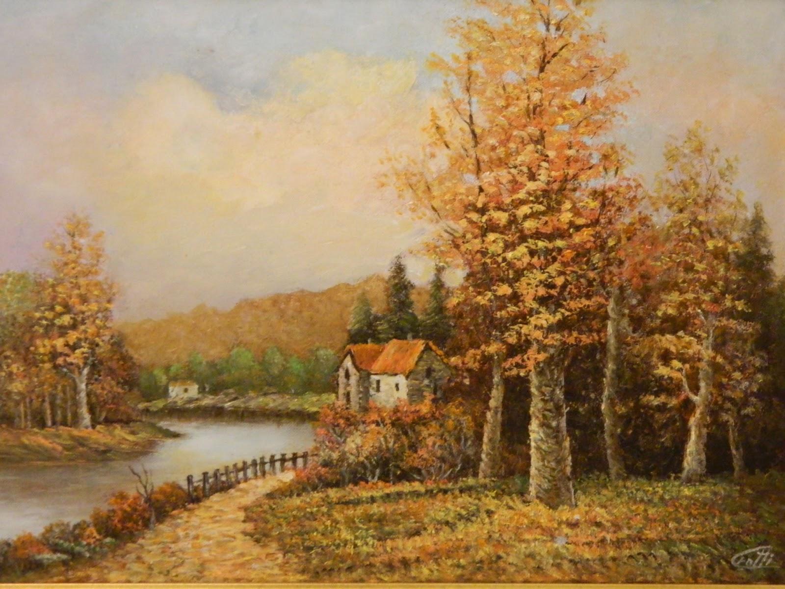 Immagini paesaggi autunnali for Disegni di cabina di campagna