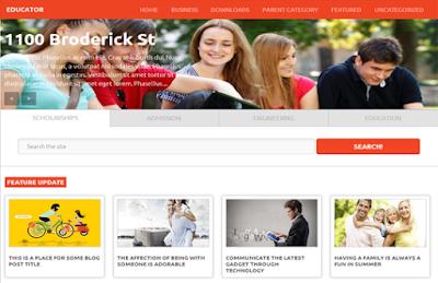 Educator - Plantilla Responsive Blogger
