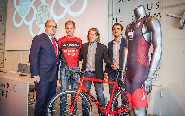 Presentación Barcelona Triathlon by Santander