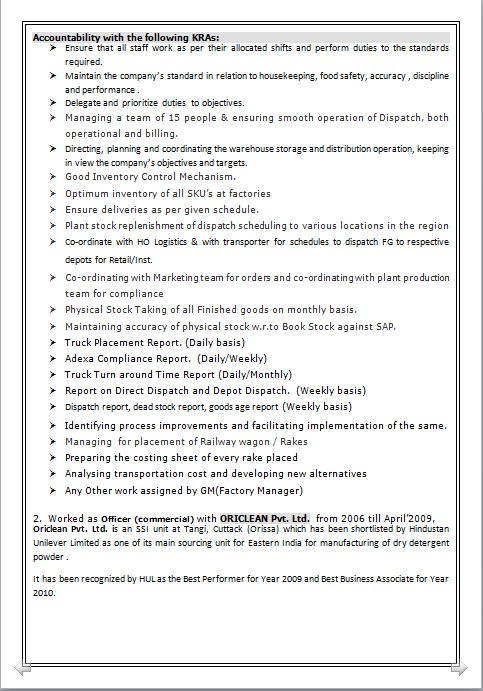 Resume Blog Co Resume Sample Of Middle Level Management
