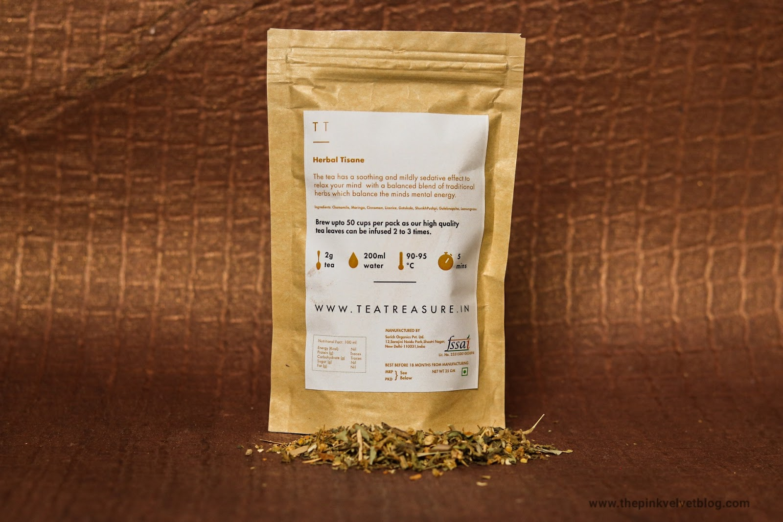 Herbal Tisane Tea Treasure