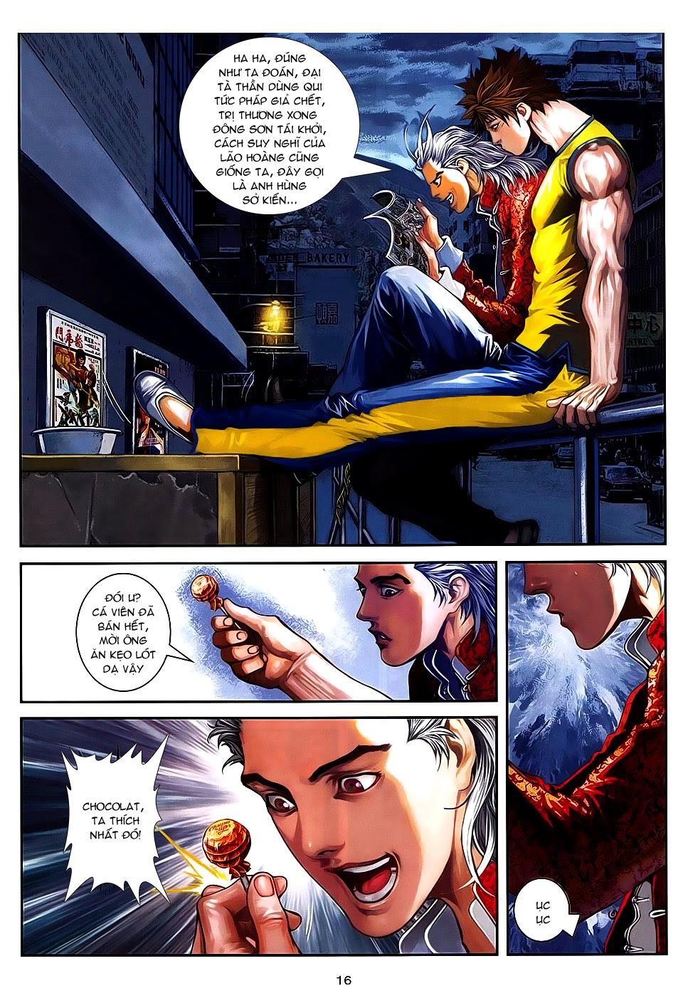 Quyền Đạo chapter 7 trang 15
