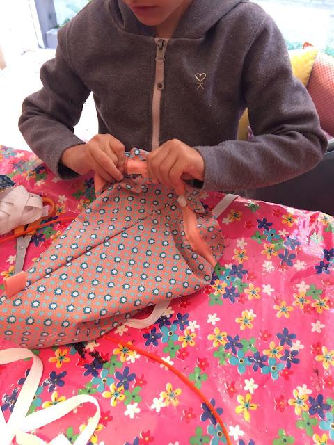 cours de couture Toulouse enfants Petit Pan couture Fabrique Bazar