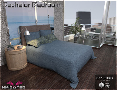 Bachelor Bedroom