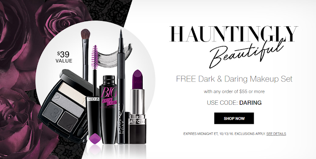 5-Piece Halloween-Inspired Makeup Set Free With Your $55 Order