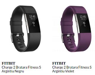 Comanda de aici bratara fitness Fitbit Charge 2 S
