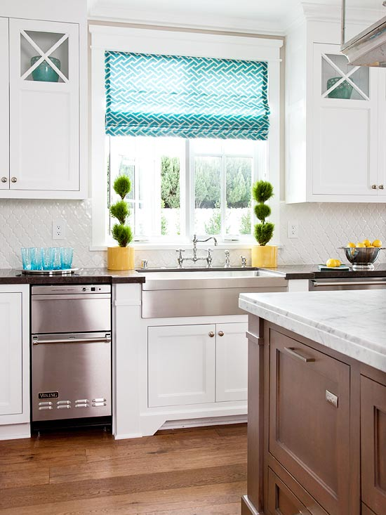 Timeless White Kitchen Cabinets