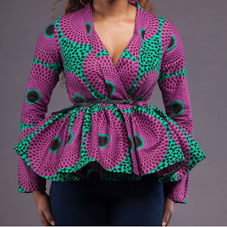 Why Women Prefers African Peplum Tops for Decent Dressing