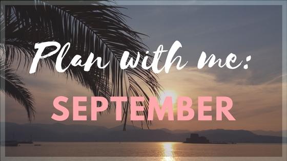 Как я веду ежедневник : сентябрь