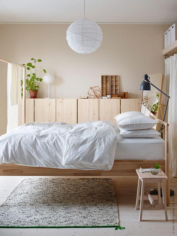 atelier rue verte le blog for my home id es d co 23 un lit en bois blond. Black Bedroom Furniture Sets. Home Design Ideas