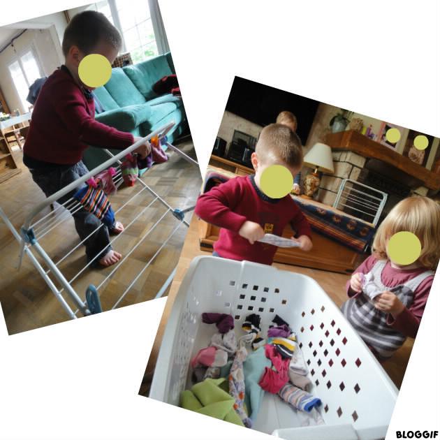 nathalie assistante maternelle etendre le linge. Black Bedroom Furniture Sets. Home Design Ideas