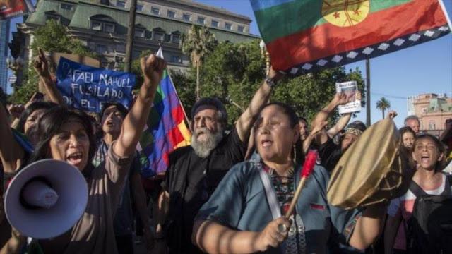 Mapuches argentinos repudian informe que los tacha de terroristas