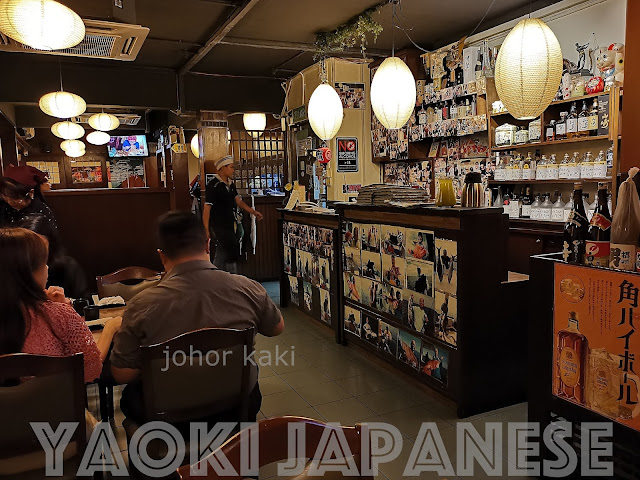 Yaoki Famous Japanese Restaurant in Pelangi Johor Bahru 八起居酒屋