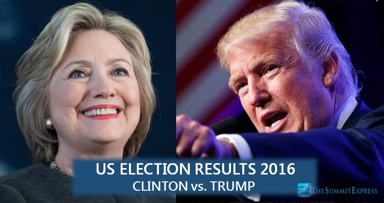 US Election Results 2016: Clinton vs. Trump, who won? (Partial, Unofficial)