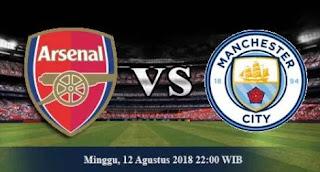 Prediksi Arsenal vs Manchester City - Minggu 12 Agustus 2018