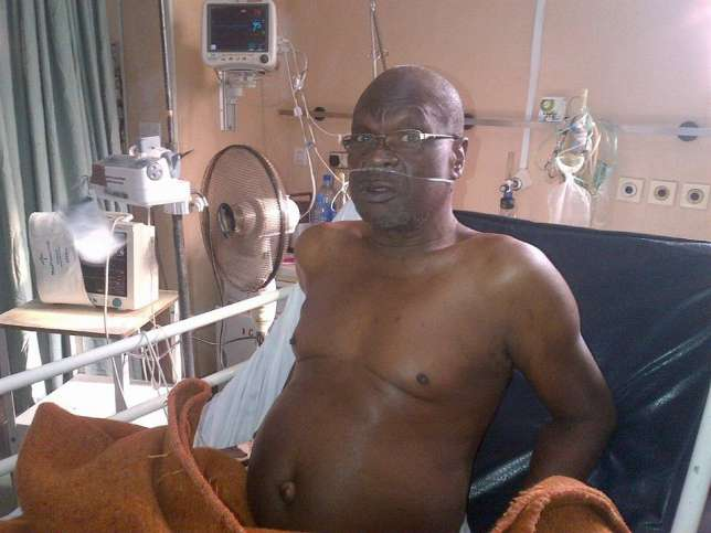 Ailing Yoruba actor Olumide Bakare speaks on his heart disease 1