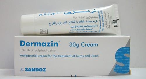 سعر ودواعى إستعمال كريم درمازين Dermazin للحروق
